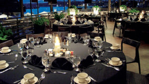 dinner cruise tables